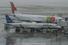 N238JB (thokaty) Tags: kbos bos bostonloganairport jetblue embraer erj190 e190 ejet erj190ar e190ar n238jb eis2006 pit departure blueclipper