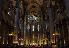 Santa Maria del Mar (St Mary of the Sea) (Ravi - 3R) Tags: barcelona ravi rrr santamariadelmar