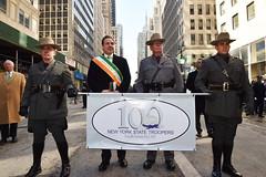Governor Cuomo Marches in St. Patrick's Day Parade (governorandrewcuomo) Tags: newyorkstate governorandrewmcuomo 2017newyorkcitystpatricksdayparade newyorkstatepolice consulgeneralofireland eringobraugh barbarajones nysp newyorkarmynationalguard airforceguard newyorkstatepolicecentennial nysppipeanddrumband newyorkcity newyork