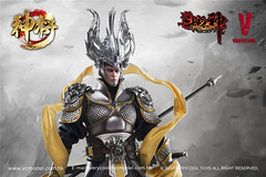 VERYCOOL TOYS VCF-DZS004 神将捍天 Exiled GOD - 08 (Lord Dragon 龍王爺) Tags: 16scale 12inscale onesixthscale actionfigure doll hot toys verycool
