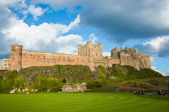 The magnificent and historic Bamburgh Castle (Geordie_Snapper) Tags: bamburghcastle canon5d3 canon2470mm holidayembleton landscape march northumberland spring