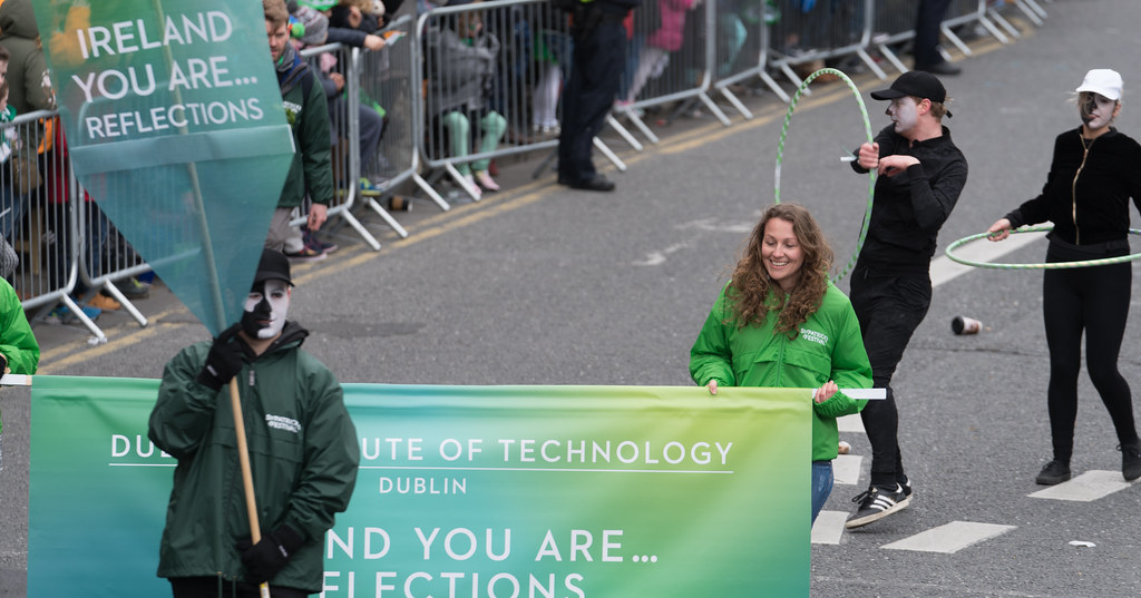 DUBLIN INSTITUTE OF TECHNOLOGY [PATRICKS DAY PARADE IN DUBLIN 2017]-126051