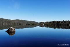 20170301-02-Lake Fanny morning reflections (Roger T Wong) Tags: australia greatpinetier lakefanny np nationalpark sel1635z sony1635 sonya7ii sonyalpha7ii sonyfe1635mmf4zaosscarlzeissvariotessart sonyilce7m2 tasmania wha wallsofjerusalem worldheritagearea bushwalk camp hike morning reflections trektramp walk water