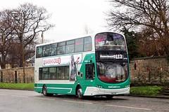 East Coast Buses 20938 SN10DKF (busmanscotland) Tags: east coast buses 20938 sn10dkf sn10 dkf volvo b9tl wright eclipse gemini lothian