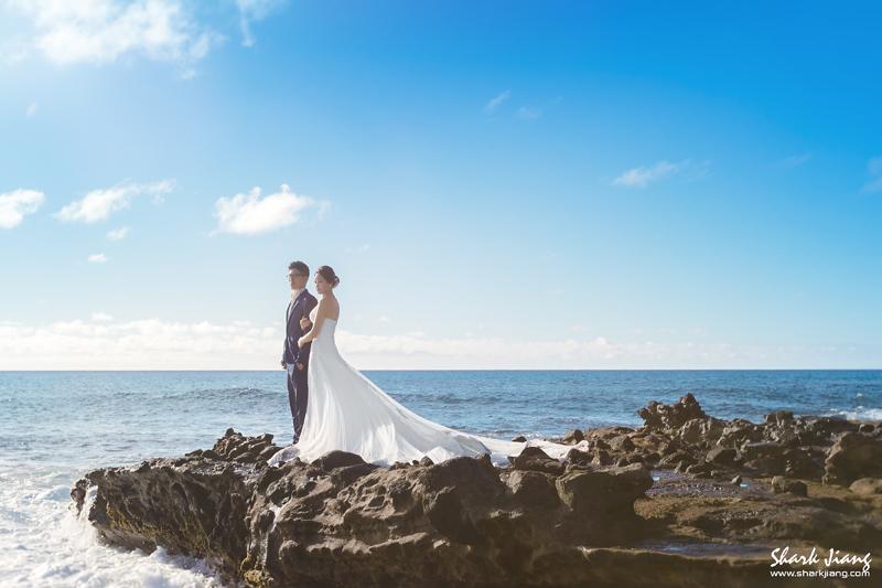 """""""夏威夷婚紗,婚攝鯊魚,自助婚紗,海外婚紗,婚紗推薦"""""""