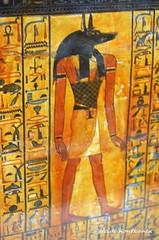 God Anubis (konde) Tags: tt1 deirelmedina sennedjem khonsu ancient 19thdynasty newkingdom coffin sarcophagus deities anubis hieroglyphs
