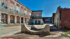 Lindale, GA: Closed textile mill in decay (nabobswims) Tags: decay emount ga georgia hdr highdynamicrange lightroom lindale nabob nabobswims photomatix sel18105g sonya6000 textilemill unitedstates us
