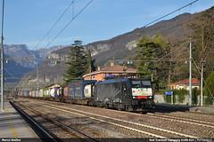 Black zebra... (Marco Stellini) Tags: rail traction company rtc brennero brenner peri 189 mrce zebra