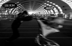 Killing time (Image #1) (Matthew Johnson1) Tags: airport cdg charlesdegaulle paris f1 killingtime time speed lounge departure trolley terminal 2e