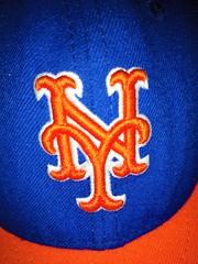 ORANGE AND BLUE LETS GO METS! (Visual Images1) Tags: hmm macromonday orangeandblue letsgomets newyork baseball mets