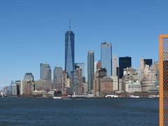 Manhattan view (germancute) Tags: usa nyc downtowncitynyc bridge brücke liberty freiheitsstatue downtown staten island ferry wtc one tower turm leuchtturm