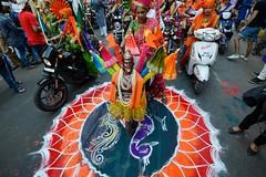 Gudi Padva Festival, Mumbai (Ashit Desai) Tags: guide padva padwa mumbai bombay maharashtra marathi new year festival spring ashit desai 2017 india celebration woman women traditional dress attire riding motorcycle bikes parade man children carnival street procession event ceremony ritual maharashtrian local dressing people gudi