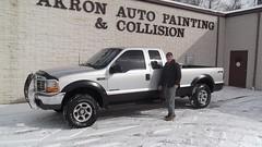 akron auto painting f250