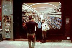 An Ape Mask Shot (slightheadache) Tags: street nyc newyorkcity film manhattan streetphotography filmcamera sensia expiredfilm