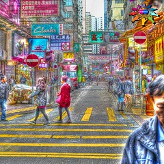 Hong Kong >>> Street Scene (tiokliaw) Tags: world reflection travelling beautiful beauty digital photoshop buildings wonderful island interesting fantastic nikon scenery holidays colours exercise expression awesome w perspective images explore winner greatshot imagination sensational colourful discovery hdr finest overview creations excellence addon highquality inyoureyes teamworks digitalcameraclub supershot mywinners worldbest anawesomeshot aplusphoto flickraward almostanything thebestofday sensationalcreations burtalshot