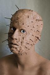 """""""Gore"""" (Oleksandr McQuartz) Tags: retrato fantasia gore chico clavos maquillaje"""