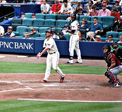 Braves VS Diamondbacks (grantdaws) Tags: atlanta arizona game home sports field sport baseball stadium run strike turner braves diamondbacks