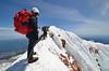 Mt. Hood Summit Ridge (photo61guy) Tags: snow mountains nature oregon landscape highpoint glacier climbing alpine mthood mountaineering summit blueskies alpinism statehighpoint platinumpeaceaward nikond7000 nikon1024mm