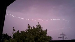 Thunderstorm ,Lightning June 9-2014 Venlo Area The Netherlands! (pipoclown269) Tags: storm june venlo thunderstorm lightning thunder onweer bliksem 92014