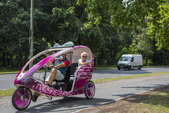 Berlin (vk2gwk - Henk T) Tags: berlin bike germany tour taxi capital guide