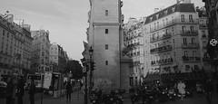 2262 Paris (Nebojsa Mladjenovic) Tags: light blackandwhite bw black paris france art monochrome digital dark french outdoors lumix frankreich panasonic frankrijk francia francais fz50 svetlost mladjenovic