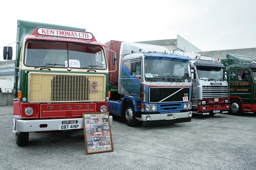 Volvo's and Scania's
