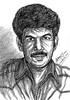Director BALA   Directed SETHU NANDHA PITHAMAGAN NAAN KADAVUL AVAN IVAN PARADESI THARAI THAPPATTAI Tamil Movies   In my Portrait Art  Anikartick Chennai tamil Nadu India