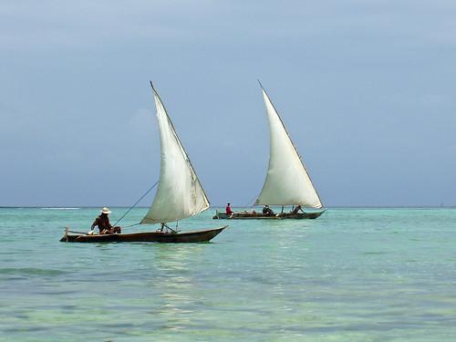 africa travel tanzania boats wind indianocean sail zanzibar woodenboat float dhow