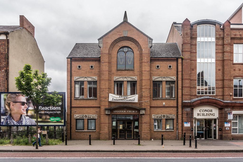 Hope International Christian Fellowship - The Apostolic Church 113 Great Victoria Street Belfast