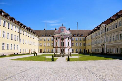 Kloster Metten - Metten monastery in Lower Bavaria Germany