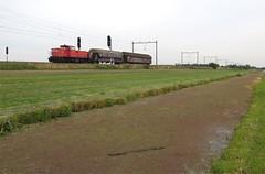 Moordrecht, trein naar Westhaven (Ahrend01) Tags: db cargo westhaven unit schenker nieuwerkerk moordrecht amsteredam kijfhoek spoorweglaan