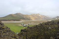 Landmannalaugar camping site