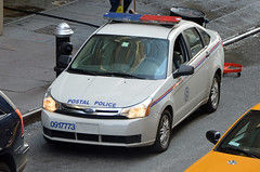 Postal Police (Emergency_Vehicles) Tags: new york us united inspection police service postal states fordfocus