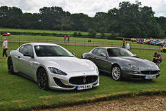 Maserati GranTurismo Sport & 4200 GT Coupe (CA Photography2012) Tags: auto ca sport photography hall italia shift grand s automotive mc stanford classics summertime gt supercar v8 maserati sportscar granturismo 4200 tourer 2014 sportline vx53kmv pp63maz