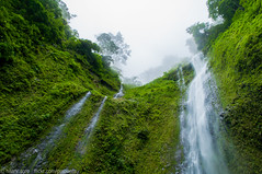 Ometepe Waterfall (la pinguera) Tags: travel summer naturaleza mist verde green nature water outdoors island waterfall madera nikon nicaragua ometepe volcan maderas cascadas 2011 d5000 volcanowaterfall nikond5000
