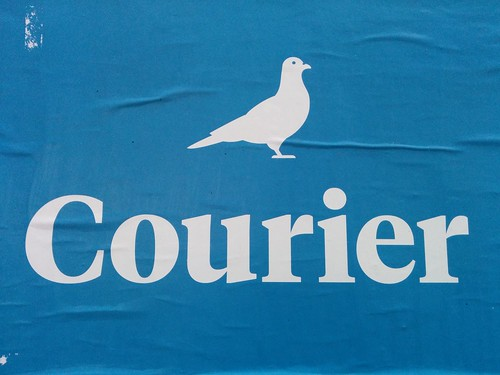 Courier by marc e marc, on Flickr