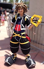 Sora (jnetsworld) Tags: sandiego comiccon sdcc cosplay sora kingdomofhearts