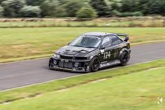 Mitsubishi Lancer Evolution 5 Twin Charged (Kiseki Studio) Tags: uk motion blur speed movement 5 yorkshire fast twin evolution racing lancer mitsubishi hillclimb motorsport charged timetrial harewood timeattack kisekistudio