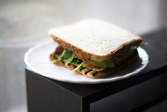 Hi, I just invented a new sandwich and I had to share it with you (Ma'ja) Tags: goodness maja both simple prosciutto err avacado rucula t34 2inone t34a 1in2 yetoh byspace jermismokedcheese intestost whitesloveniantoast crunchyandsoft
