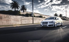 Bagged S3 ([Low Company]) Tags: white air low clean audi s3 grounded stance airlift bagged tarmacs fifteen52