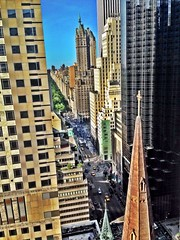 View over 5th avenue and Upper east. Side!