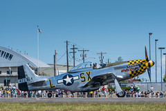 FHC Skyfair (wacamerabuff) Tags: airplane fighter aircraft wwii north american mustang usaf p51 p51d