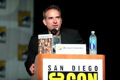 Michael Schneider (Gage Skidmore) Tags: california dan community san comic dino joel diego jim center convention jacobs gillian con rash harmon 2014 mchale stamatopoulos