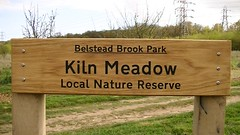 New sign for Kiln Meadow