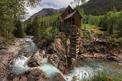 Crystal Mill, CO (JimBab) Tags: mill waterfall colorado crystal co