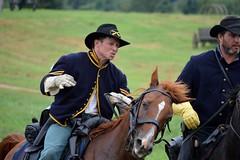 Nash Farms Battlefield (bybarn2011) Tags: horse history georgia soldier rebel war farm south union battle confederate henry civil saber cannon farms battlefield nash raid reenactment cavalry kilpatrick bybarn