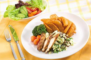 雪白翡翠野菇早午餐組合230