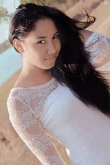 This is chello (degintings) Tags: bali sexy fun sensual hm beautifulgirl seniorphoto whitedress primelens seranganisland sigma1750 drenigma