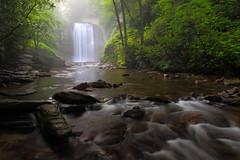 Mirror, Mirror on the falls (MarcusDC) Tags: waterfall northcarolina lookingglassfalls