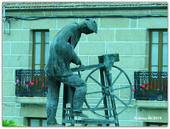 Ourense _afilador (ferlomu) Tags: escultura galicia estatua ourense afilador ferlomu